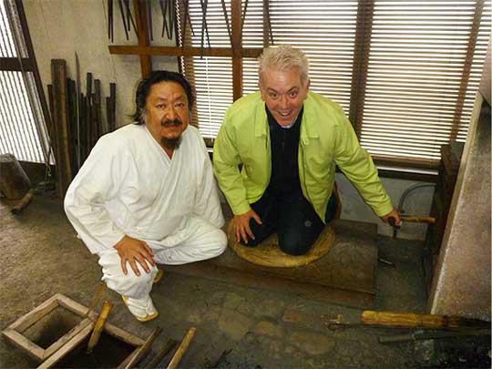 岐阜県関市の御刀鍛冶工 25代目藤原兼房氏の工房を訪ねました!