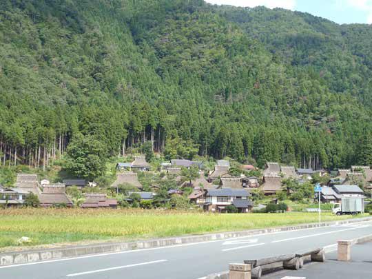 京都府南丹市美山の里山にやってきました!