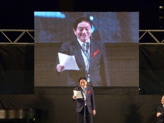 名古屋市の河村市長もスピーチ!