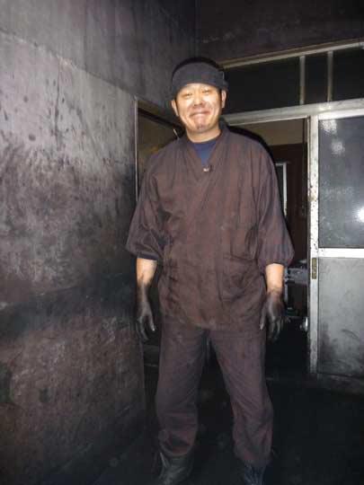 伊藤さんは日本でただ一人の水の伝統工芸士です!